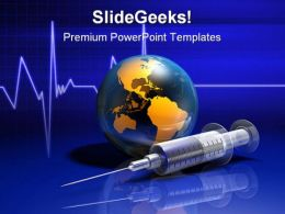 Global Medicine Medical PowerPoint Backgrounds And Templates 1210