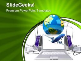 Global Network Internet PowerPoint Templates And PowerPoint Backgrounds 0511