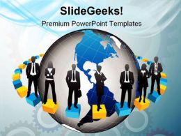 Global People Business PowerPoint Templates And PowerPoint Backgrounds 0511