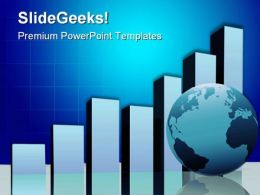 Global Profit Charts Business PowerPoint Templates And PowerPoint Backgrounds 0211