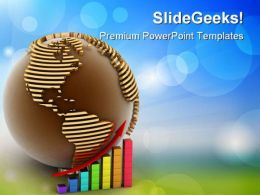 Global Success Concept Business PowerPoint Templates And PowerPoint Backgrounds 0911