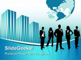 Global Team01 Business PowerPoint Templates And PowerPoint Backgrounds 0611