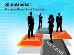 Global Team01 Business PowerPoint Templates And PowerPoint Backgrounds 0711