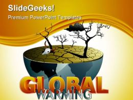 Global Warming Environment PowerPoint Backgrounds And Templates 0111