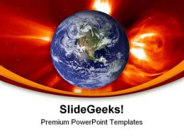 Global Warming Geographical PowerPoint Templates And PowerPoint Backgrounds 0211