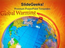 Global Warming Globe PowerPoint Templates And PowerPoint Backgrounds 0511
