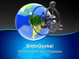 Globe Earth PowerPoint Templates And PowerPoint Backgrounds 0311