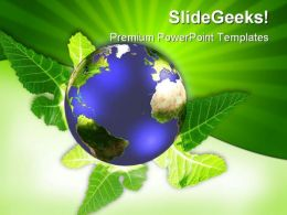 Globe Environment PowerPoint Templates And PowerPoint Backgrounds 0311