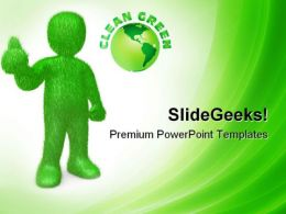 Go Green01 Environment PowerPoint Templates And PowerPoint Backgrounds 0611