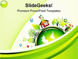 Go Green Environment Nature PowerPoint Templates And PowerPoint Backgrounds 0611