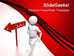 Goal Business PowerPoint Templates And PowerPoint Backgrounds 0411