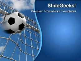 Goal Sports PowerPoint Templates And PowerPoint Backgrounds 0611
