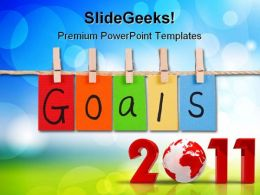 Goals2011 Business PowerPoint Templates And PowerPoint Backgrounds 0311