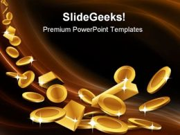 Gold Finance PowerPoint Templates And PowerPoint Backgrounds 0311