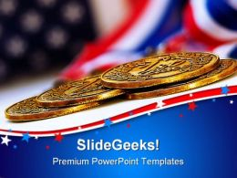 Gold Medals Success PowerPoint Templates And PowerPoint Backgrounds 0711