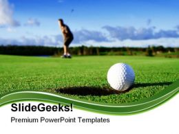 Golf Game PowerPoint Templates And PowerPoint Backgrounds 0511