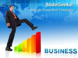 Graph04 Business PowerPoint Templates And PowerPoint Backgrounds 0511