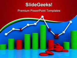 Graph Business PowerPoint Backgrounds And Templates 1210