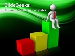 Graph Business PowerPoint Templates And PowerPoint Backgrounds 0411