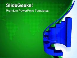 Graph Success PowerPoint Templates And PowerPoint Backgrounds 0611