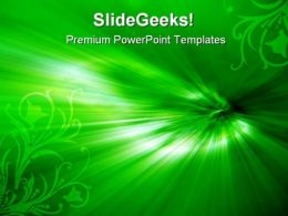 Green Background PowerPoint Templates And PowerPoint Backgrounds 0611