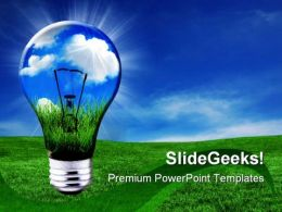 Green Energy Solutions Nature PowerPoint Templates And PowerPoint Backgrounds 0511