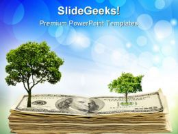 Green Tree Environment PowerPoint Templates And PowerPoint Backgrounds 0611