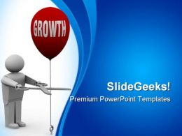 Grow Your Business Success PowerPoint Templates And PowerPoint Backgrounds 0511