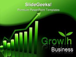 Growth Business PowerPoint Template 0510