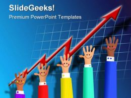 Growth Business PowerPoint Template 0610