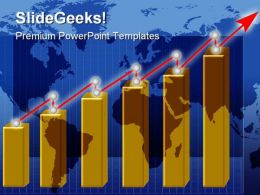 Growth Chart Business PowerPoint Templates And PowerPoint Backgrounds 0611