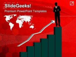 Growth Chart Of Investments Finance PowerPoint Templates And PowerPoint Backgrounds 0511