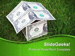 Growth In Housing Markets Money PowerPoint Templates And PowerPoint Backgrounds 0511