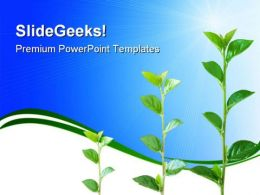 Growth Nature PowerPoint Templates And PowerPoint Backgrounds 0611