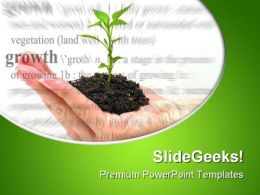 Growth Theme Environment PowerPoint Templates And PowerPoint Backgrounds 0511