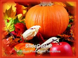 Halloween01 Nature PowerPoint Template 0610