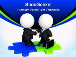 Handshake03 Business PowerPoint Templates And PowerPoint Backgrounds 0411