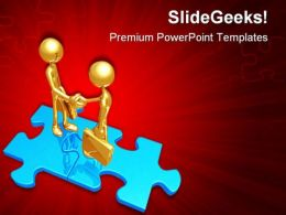 Handshake03 Business PowerPoint Templates And PowerPoint Backgrounds 0511
