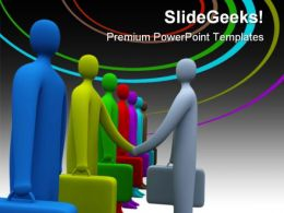 Handshake06 Business PowerPoint Templates And PowerPoint Backgrounds 0511