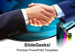 Handshake Business PowerPoint Templates And PowerPoint Backgrounds 0611