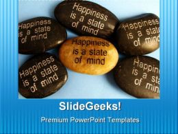 Happiness Affirmation Metaphor PowerPoint Templates And PowerPoint Backgrounds 0711