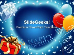 Happy Birthday Events PowerPoint Templates And PowerPoint Backgrounds 0511
