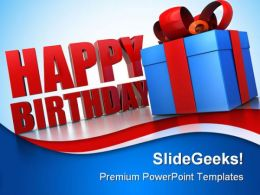 Happy Birthday Gifts Events PowerPoint Templates And PowerPoint Backgrounds 0311