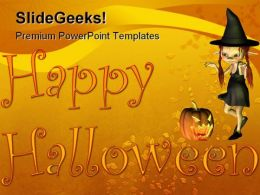 Happy Halloween01 Holidays PowerPoint Template 1010