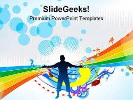 Happy People Background PowerPoint Templates And PowerPoint Backgrounds 0511