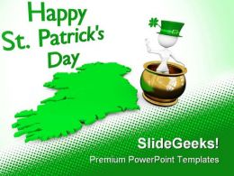 Happy St Patrick Day Events PowerPoint Templates And PowerPoint Backgrounds 0411