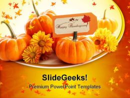 Happy Thanks Giving Holiday PowerPoint Templates And PowerPoint Backgrounds 0411