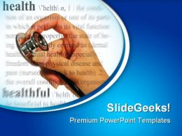 Health01 Medical PowerPoint Templates And PowerPoint Backgrounds 0711