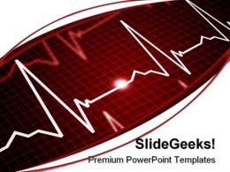 Heart Beat Medical PowerPoint Templates And PowerPoint Backgrounds 0311