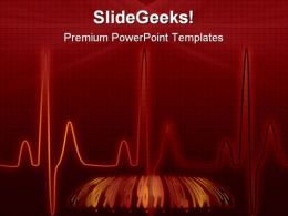 Heartbeat Medical PowerPoint Backgrounds And Templates 1210